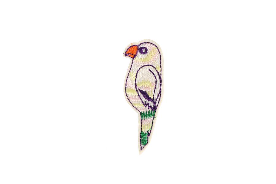 S0051 Sweet Parrot Patch 3x7.5cm