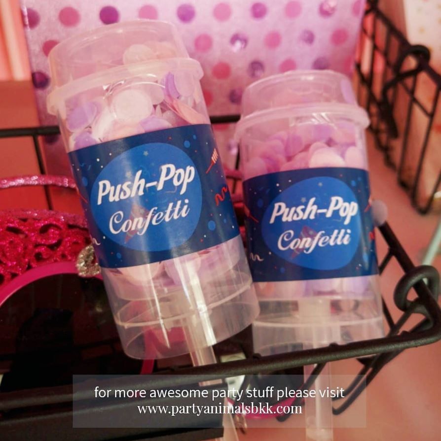 Push Pop Confetti กระดาษโปรยแบบยิง