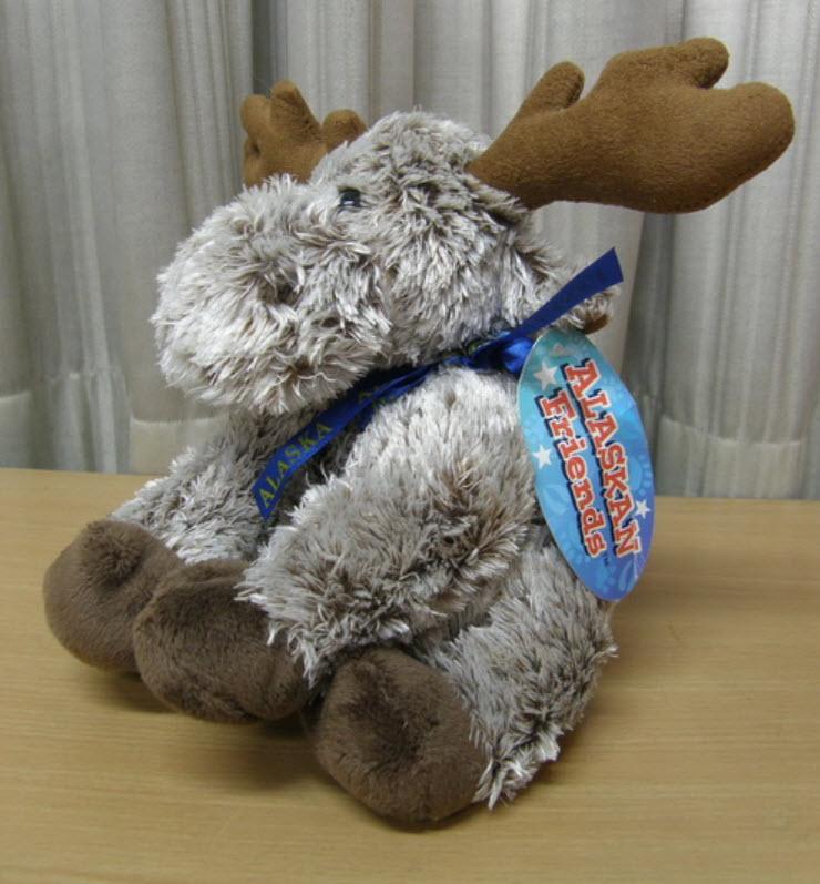 ตุ๊กตา Moose ขนาด 8 นิ้ว (Alaska)