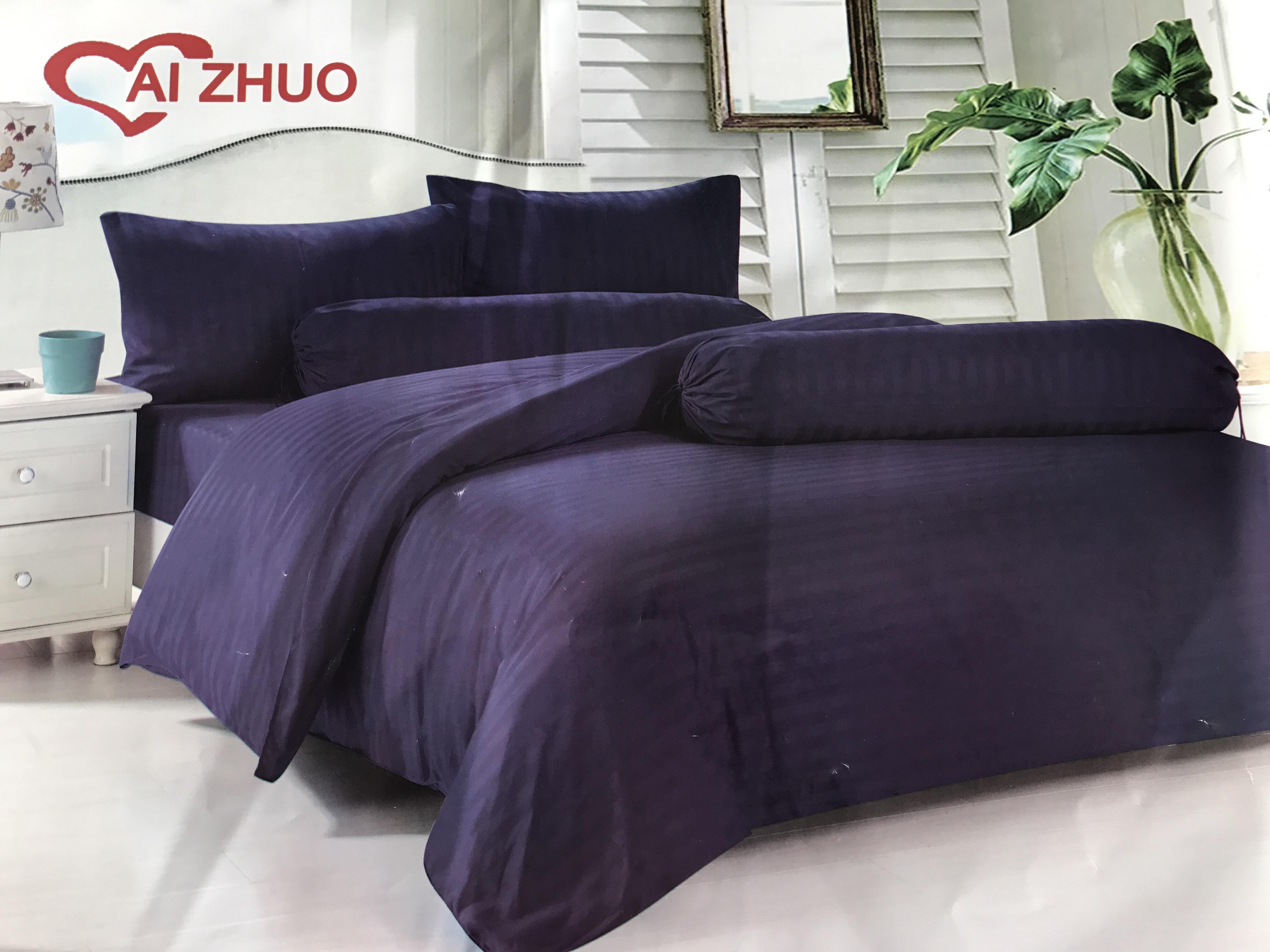 ชุดผ้าปูที่นอนลายสีพื้น ขนาด 6 ฟุต, 5 ฟุต, 3.5 ฟุต