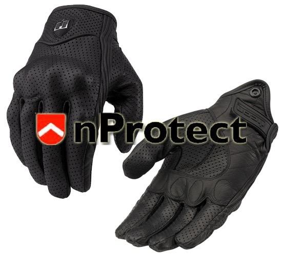 ถุงมือขับขี่รถมอเตอร์ไซค์บิ๊กไบค์ Bigbike I-con Pursuit Glove Stealth