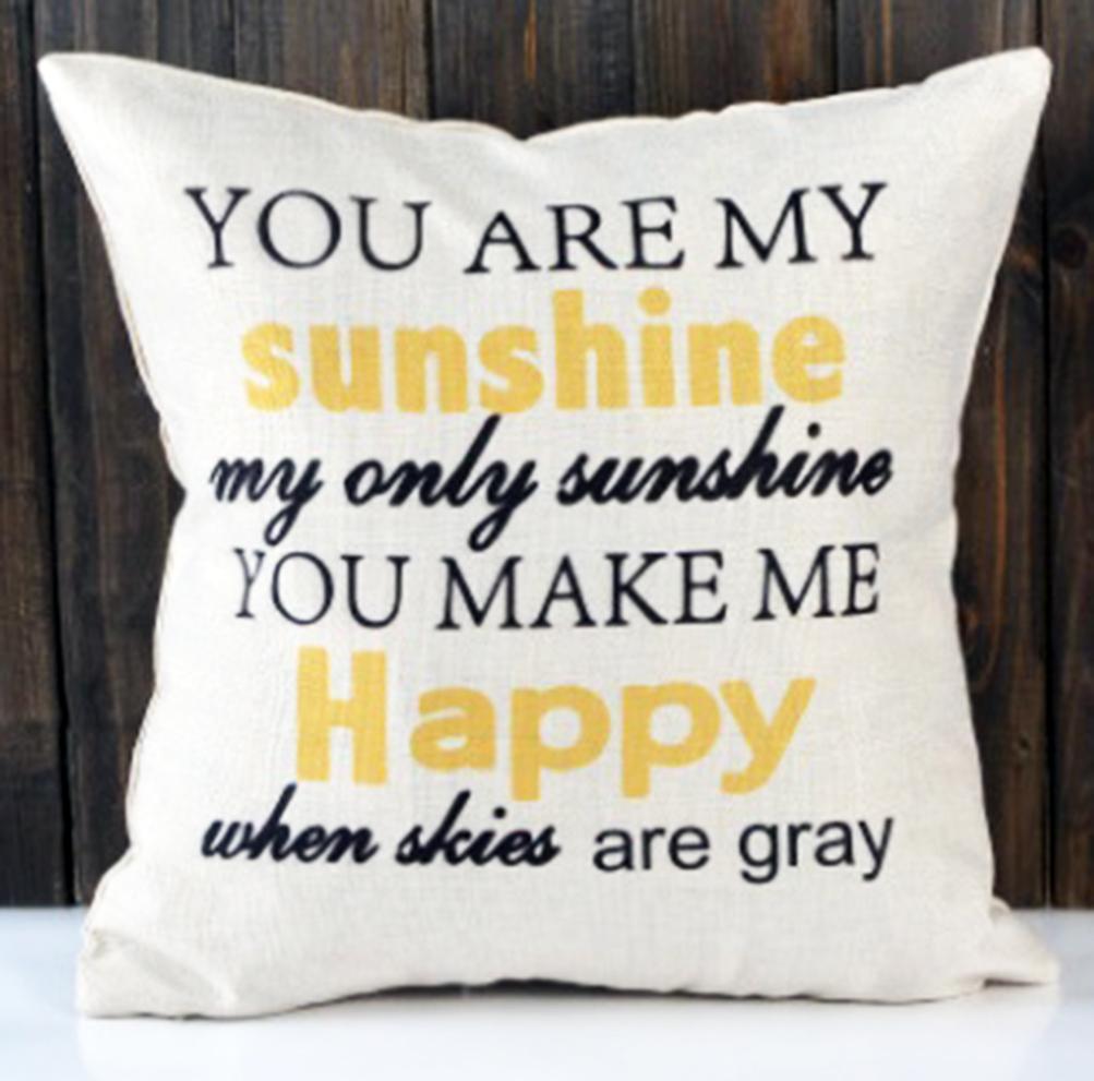 หมอนอิง You are my SUNSHINE