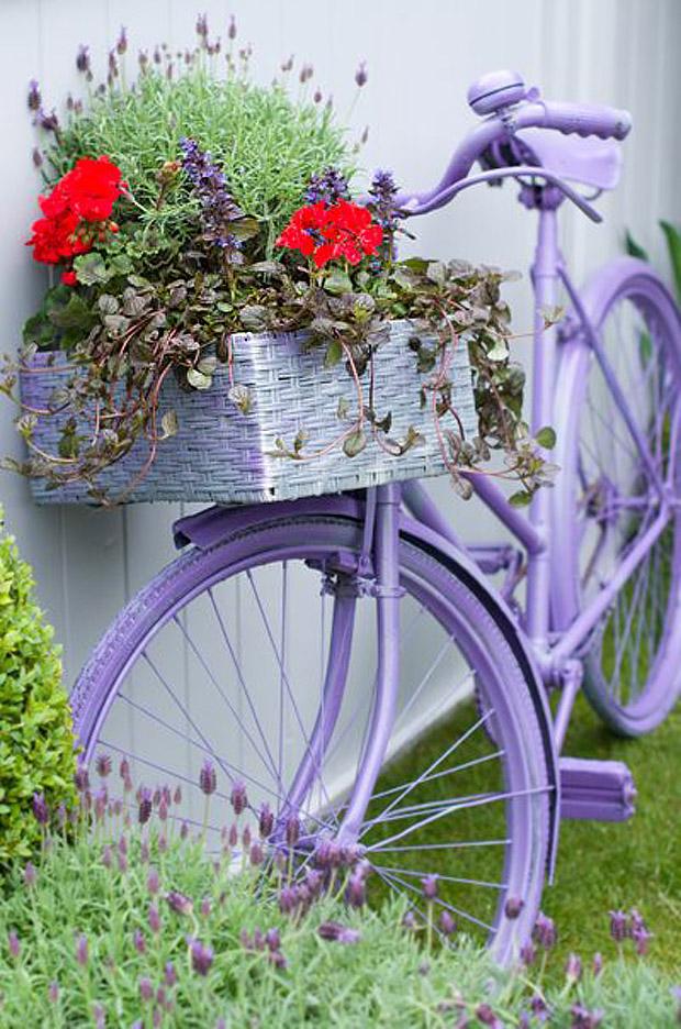 ไอเดียตกแต่งบ้านด้วยจักรยานคันเก่า 12
