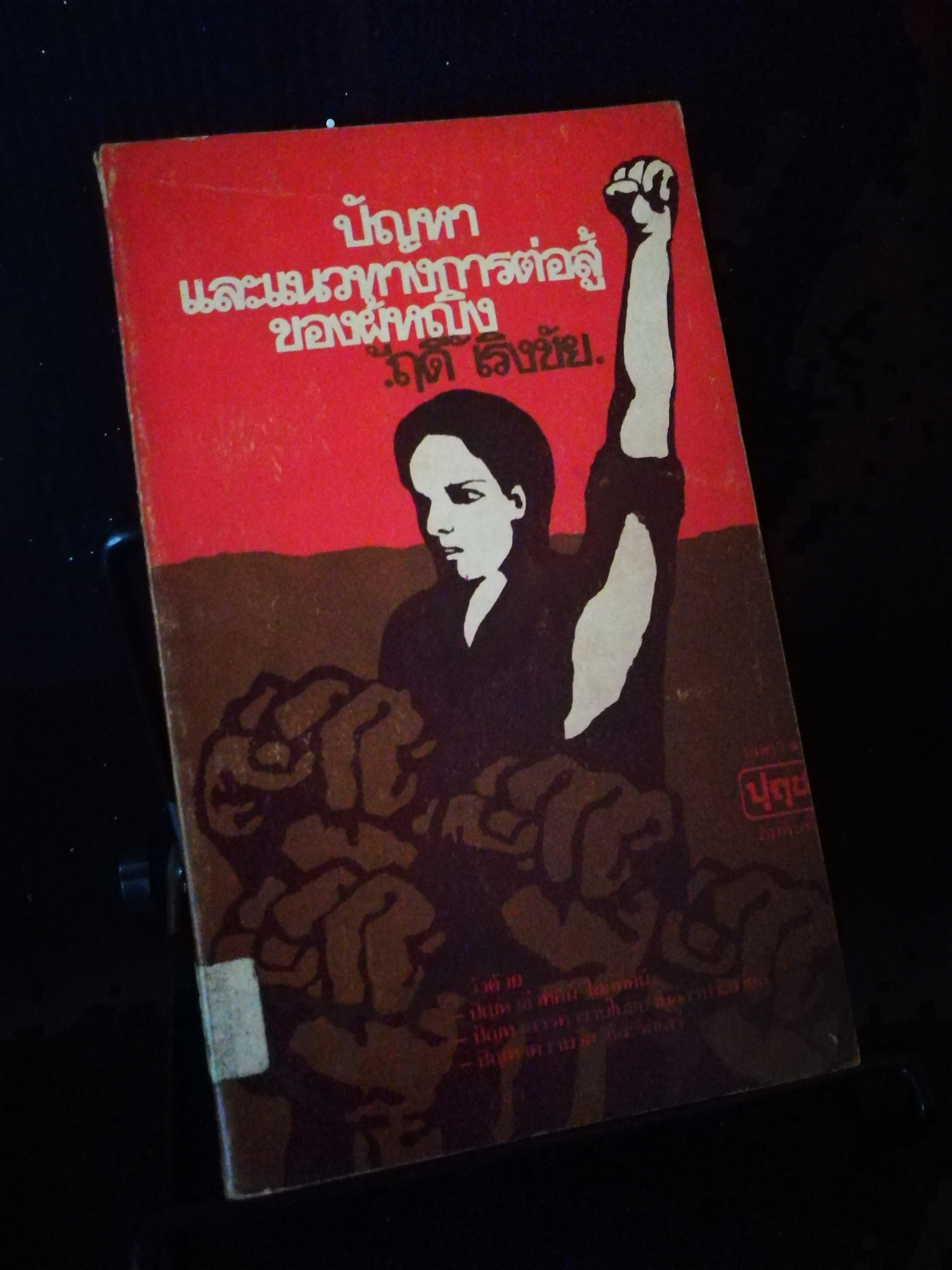 ปัญหาและแนวทางการต่อสู้ของผู้หญิง - หนังสือต้องห้าม