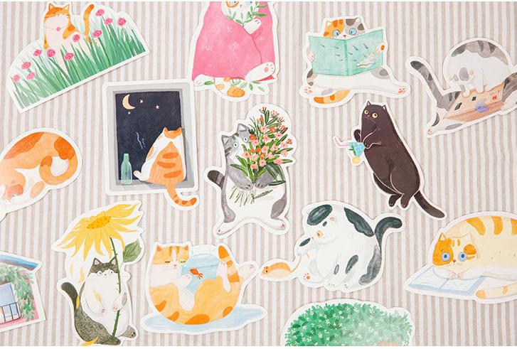 Postcardsแมวเหมียว 1 กล่องมี 30 ลาย