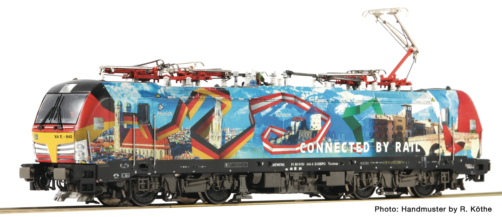 Roco73978 BR193 connect by rail, dcc ready