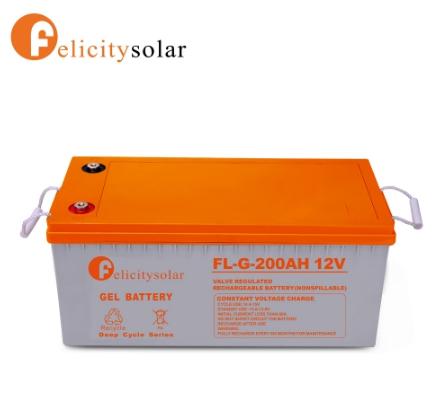 แบตเตอรี่ ดีฟไซเคิล 200Ah 12V#Felicity Solar Battery Deep Cycle 200Ah 12V