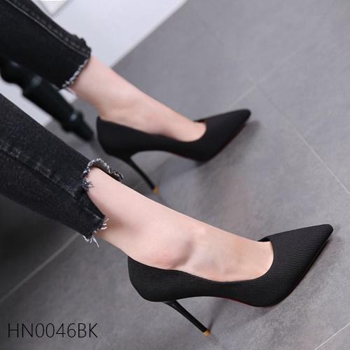 Pre รองเท้าคัทชู ส้นสูง แฟชั่น Hi end งานสวยมาก มีไซด์ 34-39