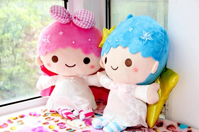 ตุ๊กตา Little Twin Stars 21 CM ขายเป็นคู่นะคะ
