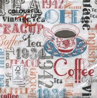 LN0678 แนพกิ้น33 Cup coffee