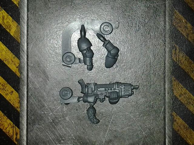Space Wolf Plasma Gun