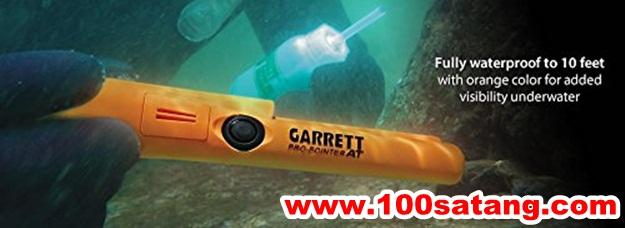 ปากกาตรวจโลหะของแท้ Garrett Pro Pointer AT Metal Detector Waterproof with Woven Belt Holster and Utility Belt