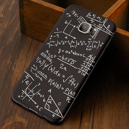 (พร้อมส่ง)เคสมือถือซัมซุง Case Samsung S6 Edge เคสนิ่มลายเส้นการ์ตูนยอดฮิต 3D