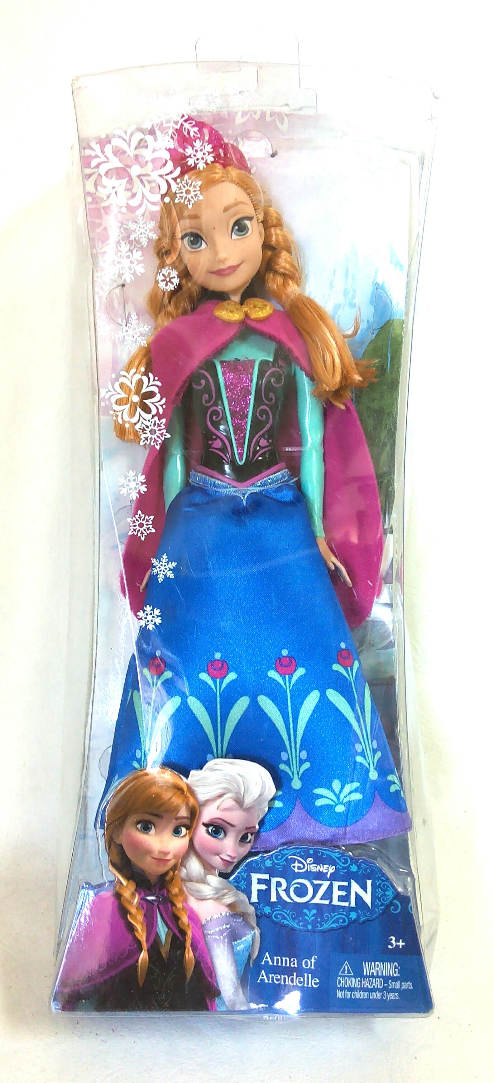 ตุ๊กตา Anna of Arendelle : Frozen Mattel
