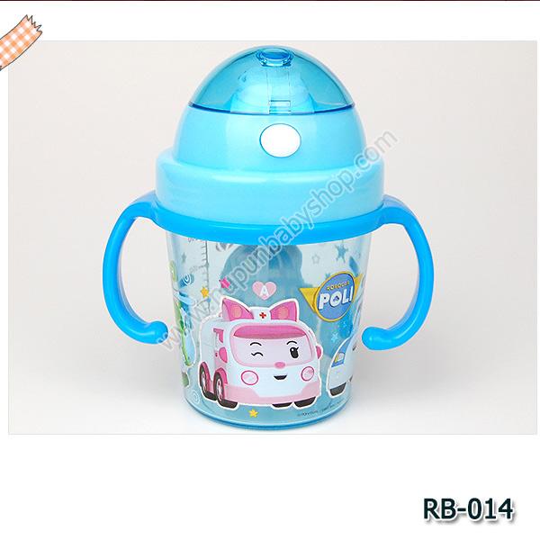 RB-014 กระติกน้ำ Robocar Poli (350 ml)