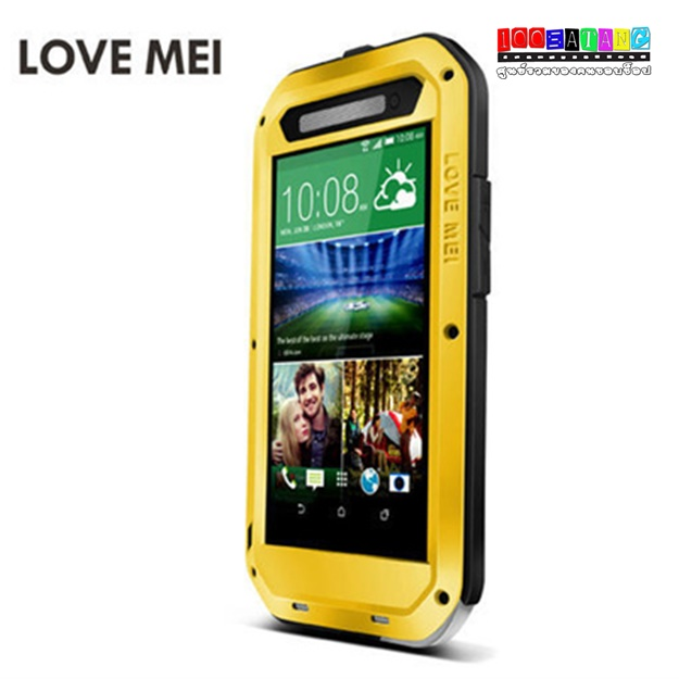 เคสมือถือ HTC One E8 เคสกันน้ำกันกระแทก LOVE MEI