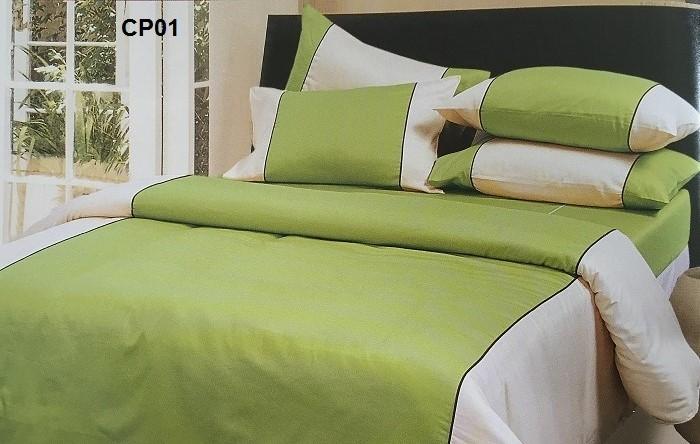 ปลอกผ้านวม ทูโทน ผ้าCVC250 เส้นด้าย มี 7สี 60*80นิ้ว ผืนละ 710 บาท ส่ง 20 ชุด