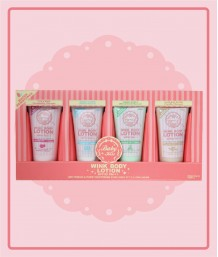 MINI BABY KISS WINK BODY LOTION 4 COLORS IN 1 PACK