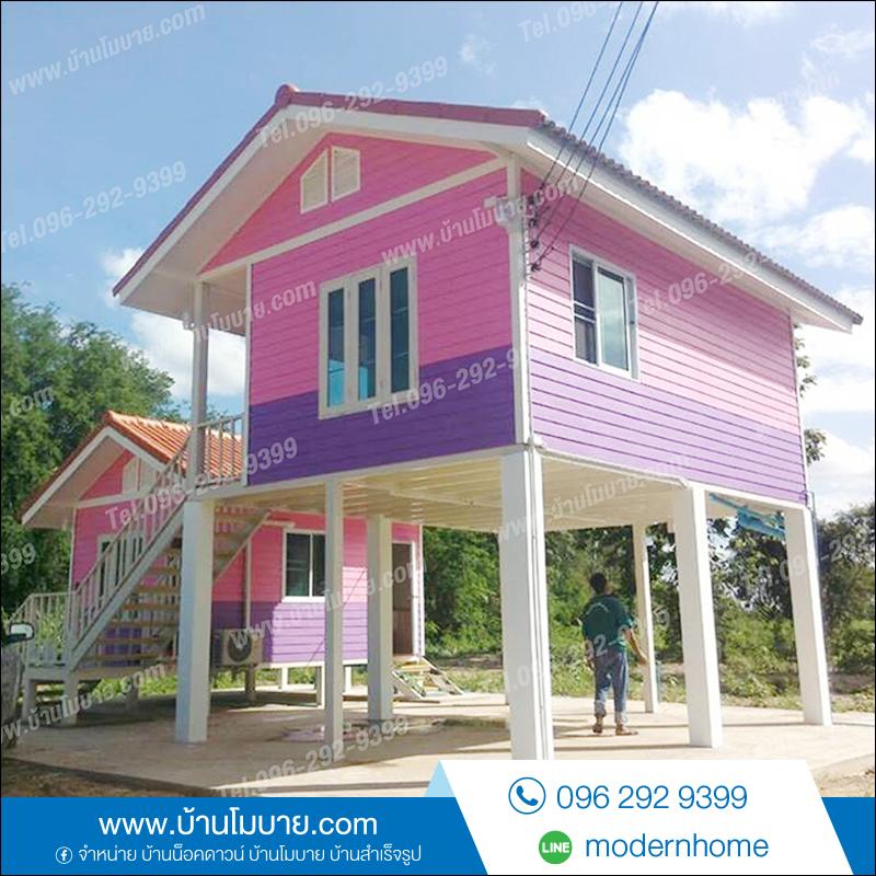 บ้านเเฝดขนาด 4.5*3.5เเละ4.5*6 เมตร 2 ห้องนอน 2ห้องน้ำ 1ห้องรับเเขก. ราคา 535,000 บาท