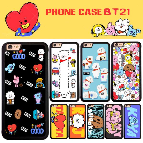 เคสโทรศัพท์ BTS BT21 characters -ระบุรุ่น/หมายเลข-
