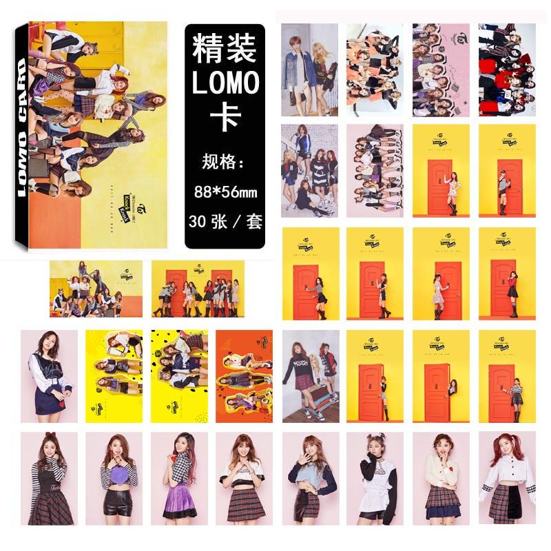 Lomo card set Twice knock knock (30pc)