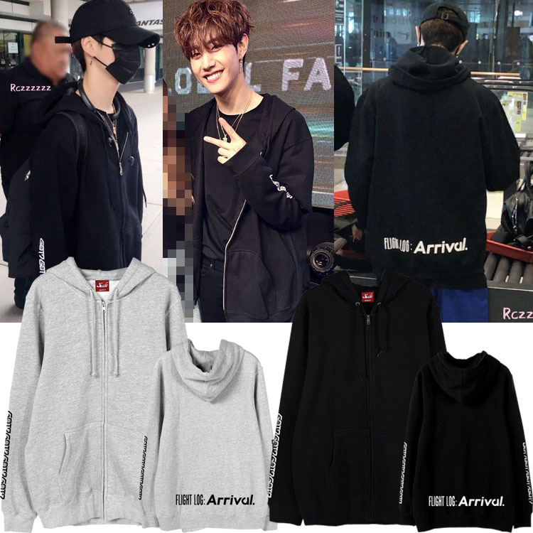 Jacket Hoodie GOT7 FLIGHT LOG : Arrival Sty.MARK -ระบุสี/ไซต์-