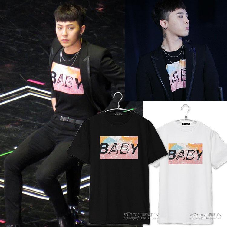 เสื้อยืด BABY Sty.G-Dragon -ระบุสี/ไซต์-