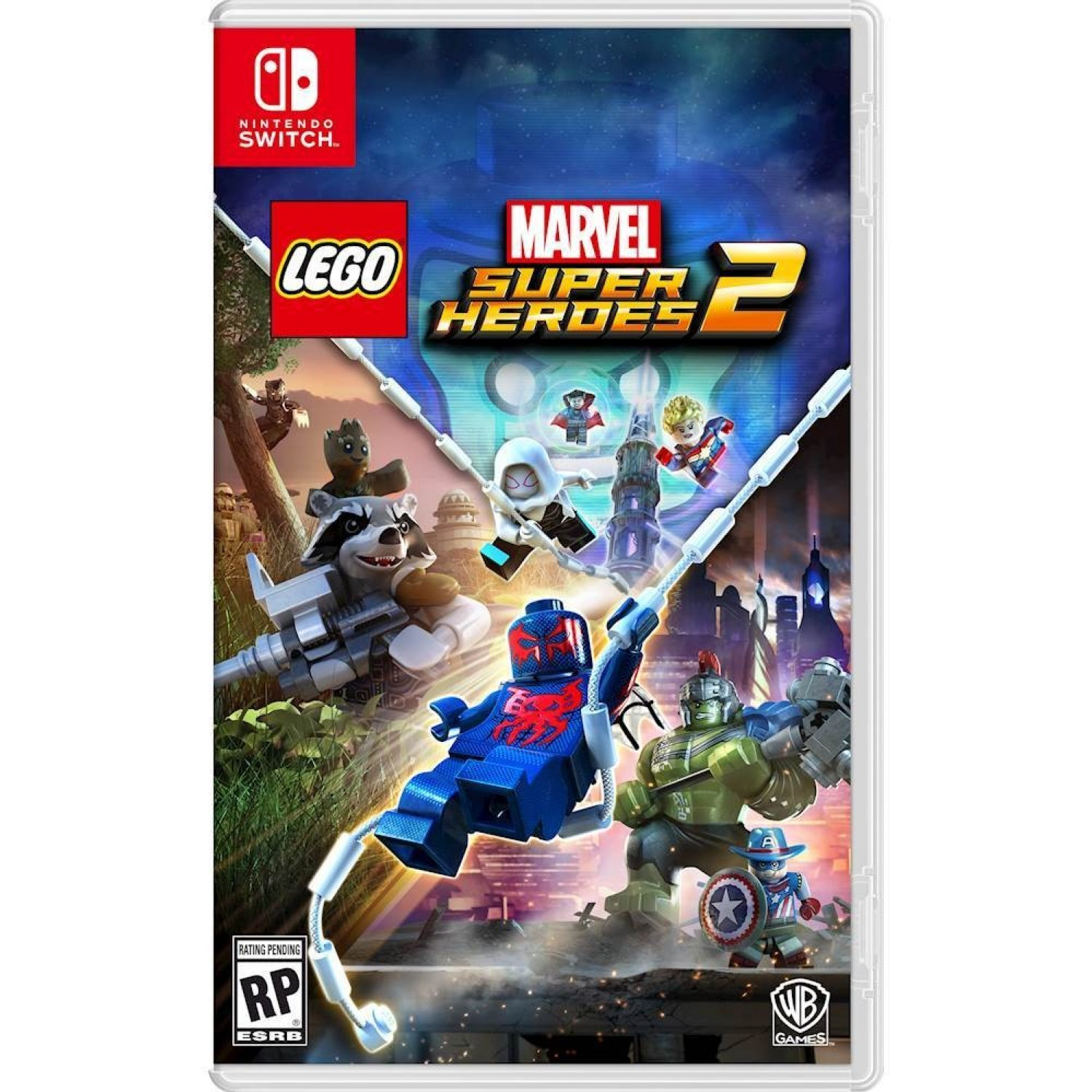 Nintendo Switch: LEGO Marvel Super Heroes 2 (Asia)