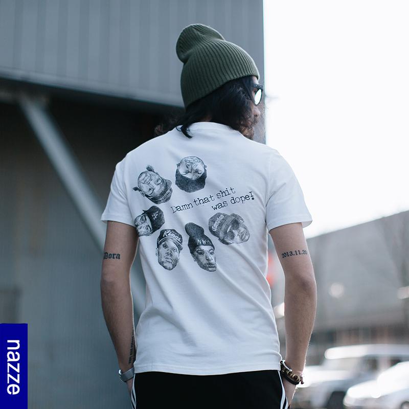 *Pre Order*เสื้อยืดแขนสั้น Nazze japanese fashion Summer Coolผ้าฝ้าย 100% size M-3XL
