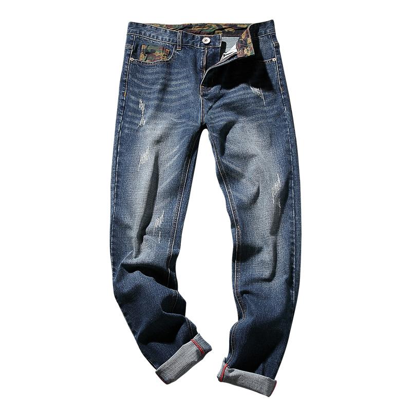 *Pre Order*BAOYAN กางเกงยีนส์ทรงกระบอก/แฟชั่นชายญี่ปุน size 30-46