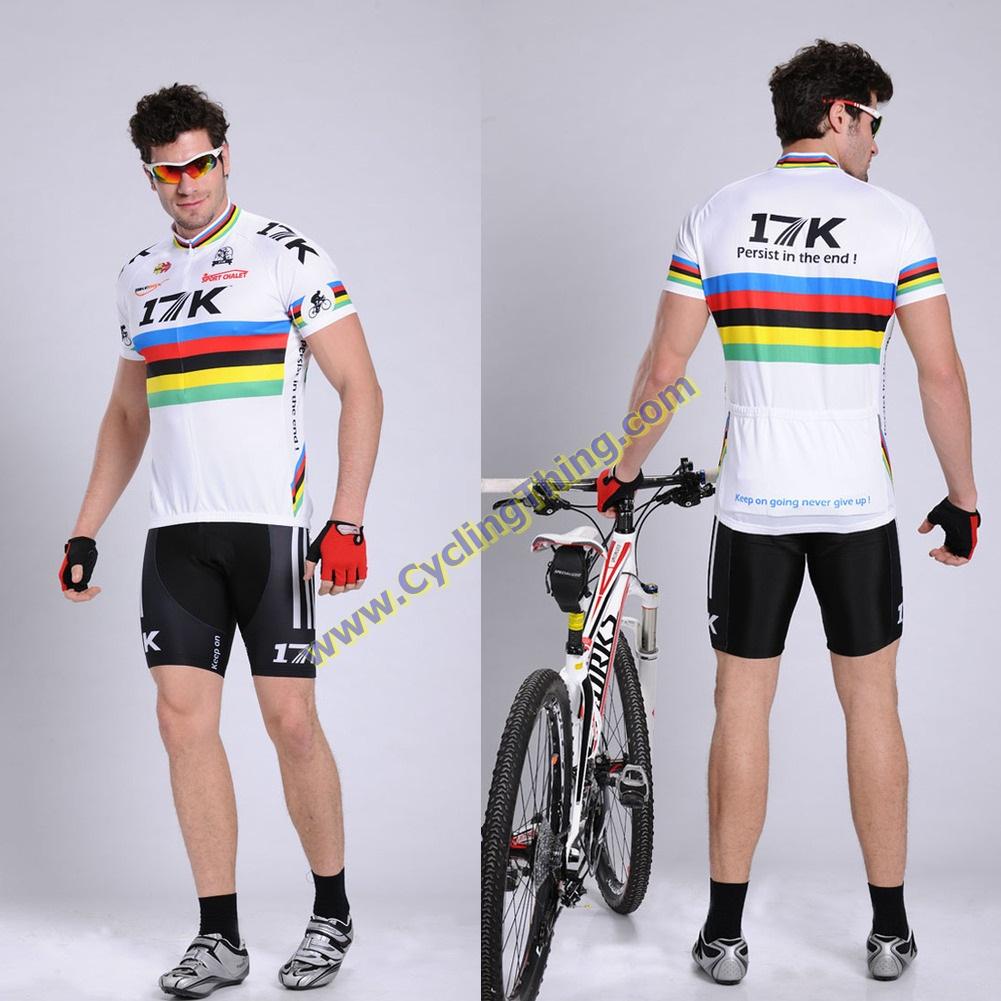 พรีออเดอร์ ชุดปั่นจักรยาน เสื้อปั่นจักรยานแขนสั้น+กางเกงปั่นจักรยานขาสั้น รหัส C067-7