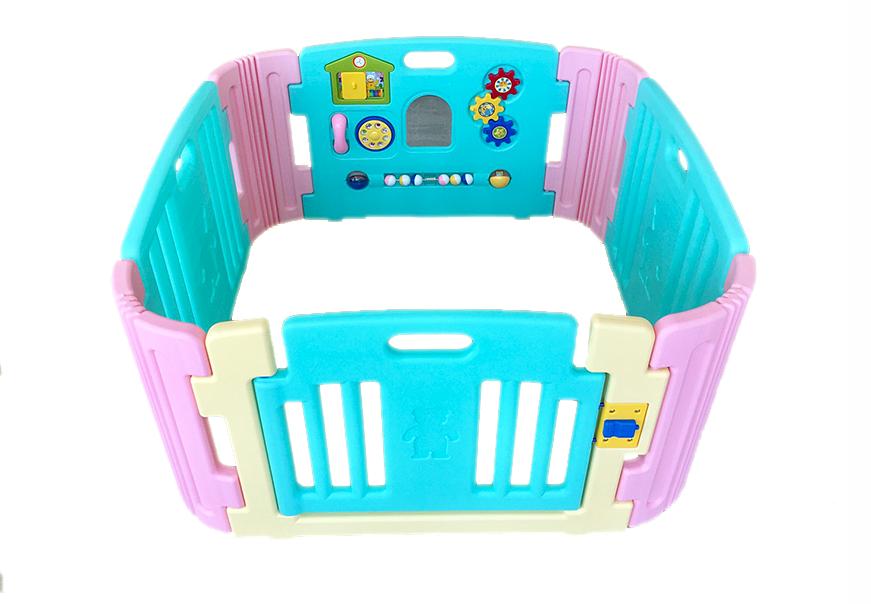 คอกกั้นเด็ก Meeso สี Aquamarine อความารีน ไซส์ S รุ่น playgame