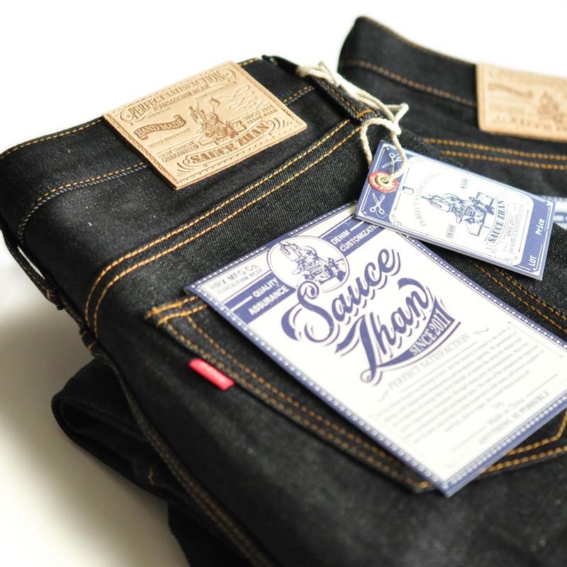 *Pre Order*กางเกงยีนส์ SAUCE ORIGIN Zipper 311XX Pants ผู้ชายญี่ปุ่น 14.5 oz. size W28-38