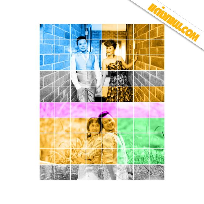 ภาพโฟโต้มิ๊กซ์ Modern box