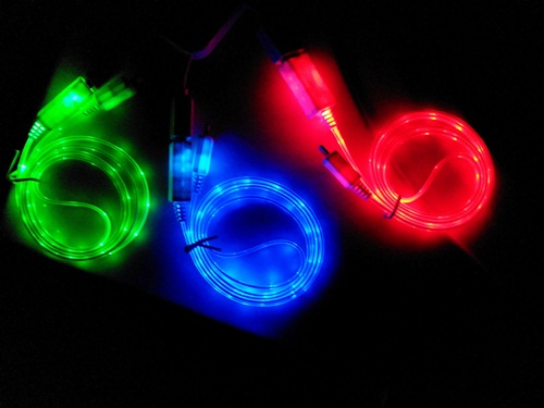 Hi Speed Cabel Light Iphone5 'malon' (1M) คละสี