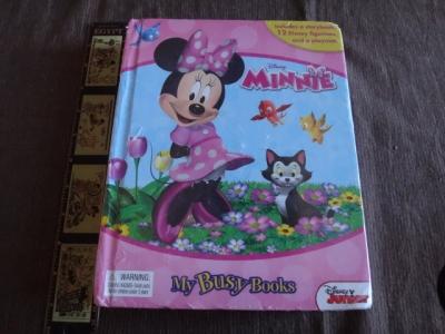 my busy books Minnie