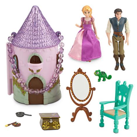Z Rapunzel Mini Castle Play Set เจ้าหญิง ราพันเซล
