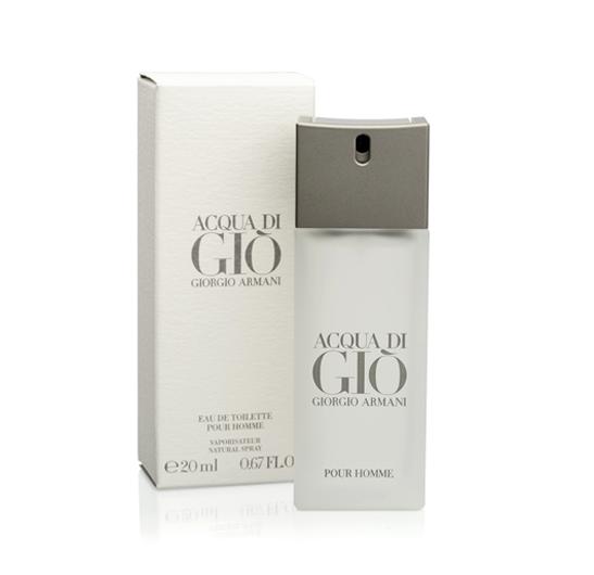 Acqua Di Gio Pour Homme EDT for him 20 ml.กล่องซีล ขนาดพกพา