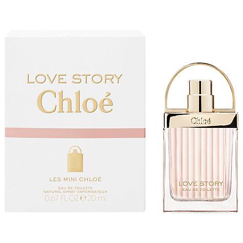 น้ำหอม Chloe Love Story Eau de Toilette ขนาดพกพา 20ml กล่องซีล