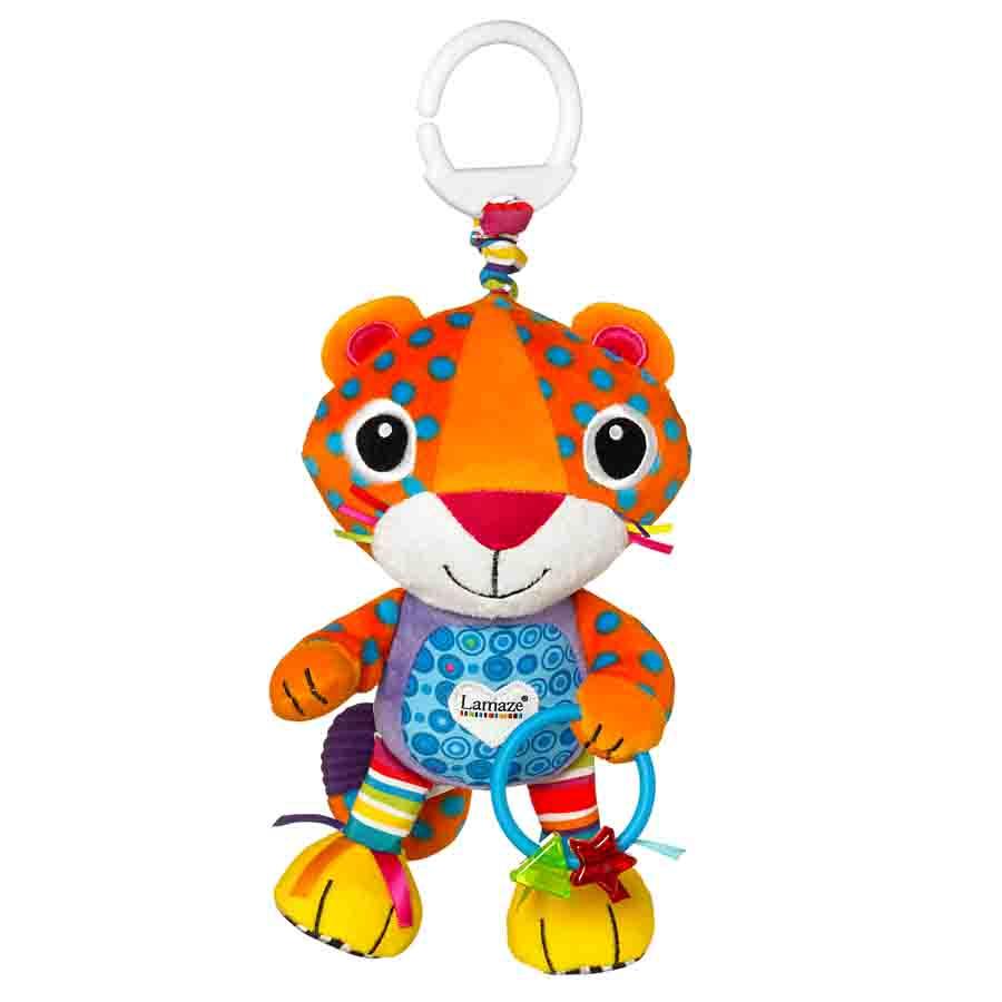 ตุ๊กตาเสริมพัฒนาการ Lamaze Purring Percival ของแท้ รูปเสือดาว