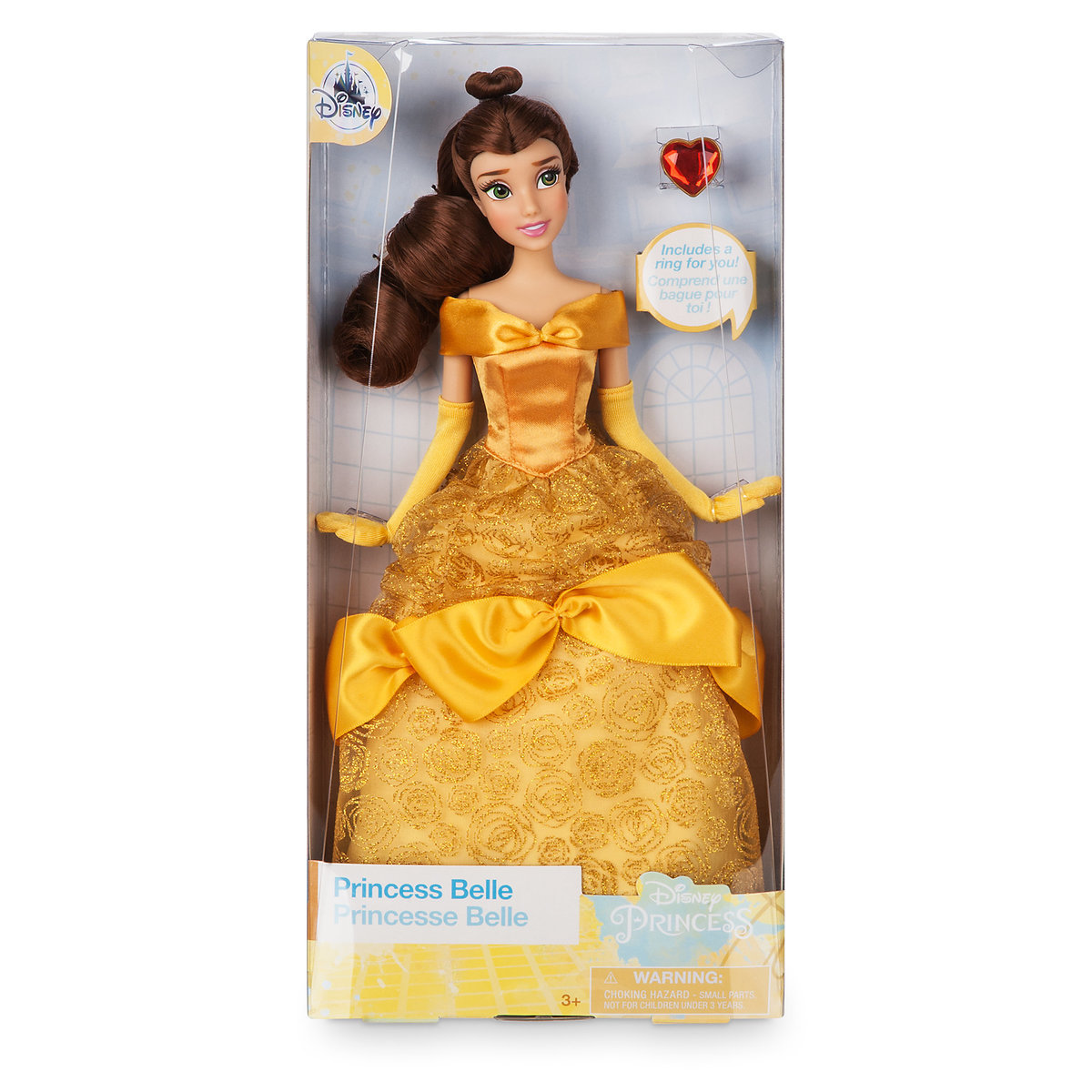 Belle Classic Doll with Ring - Beauty and the Beast - 12'' ของแท้ นำเข้าจากอเมริกา