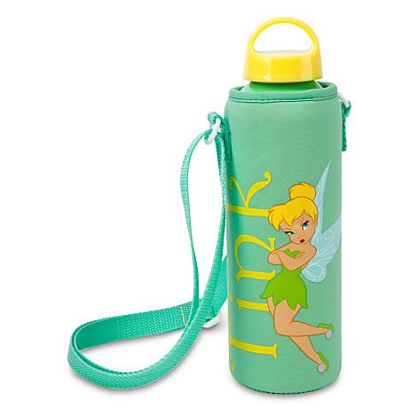 Tinker Bell Water Bottle with Neoprene Cover ของแท้ นำเข้าจากอเมริกา