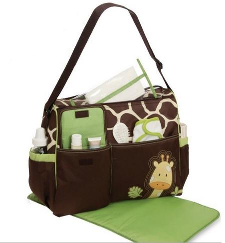 กระเป๋าสัมภาระคุณแม่ ลายยีราฟ