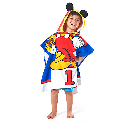 Mickey Mouse Hooded Towel for Kids from Disney USA ของแท้100% นำเข้า จากอเมริกา