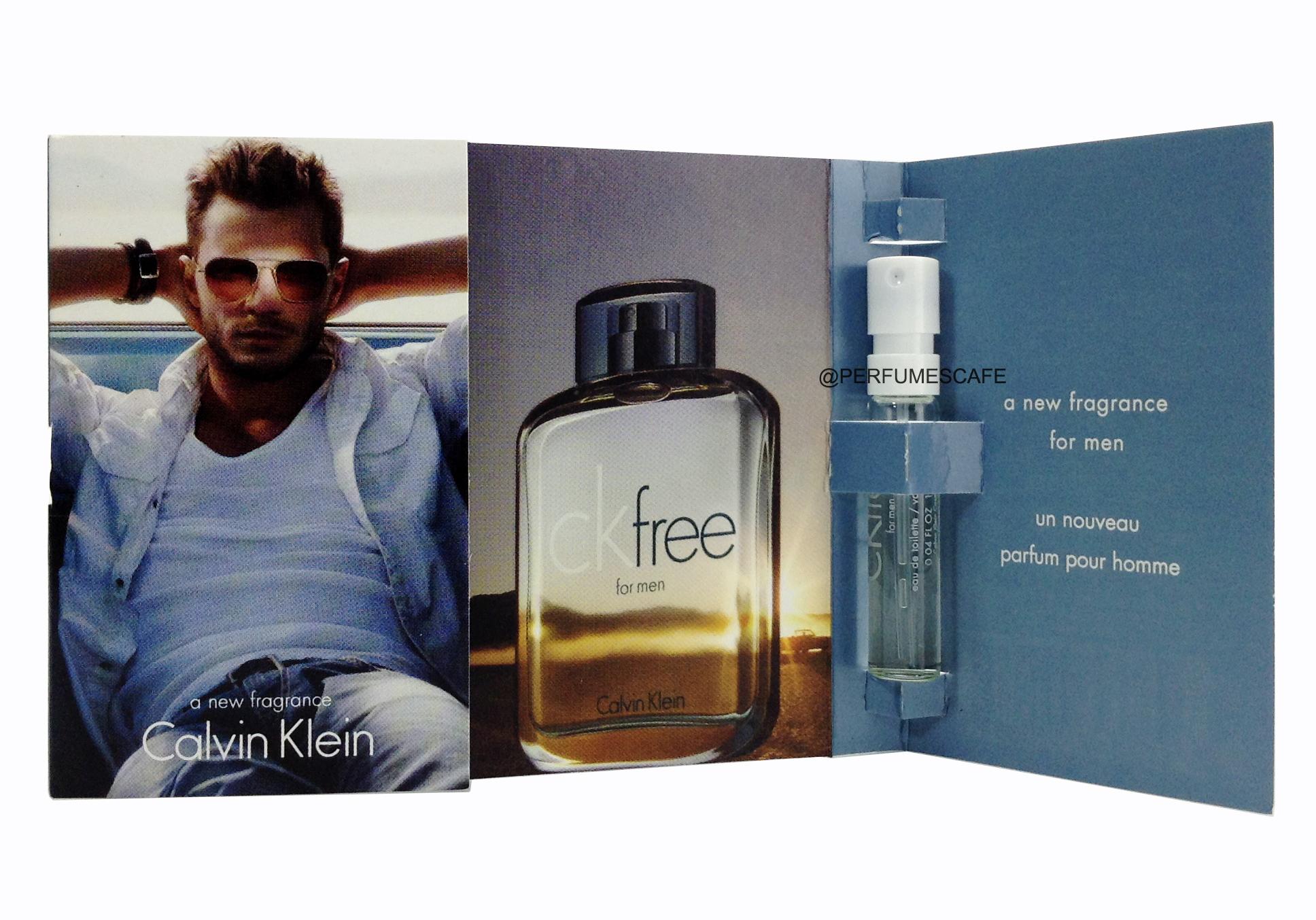 น้ำหอม Calvin Klein CK Free For Men ขนาดทดลอง 1.2ml