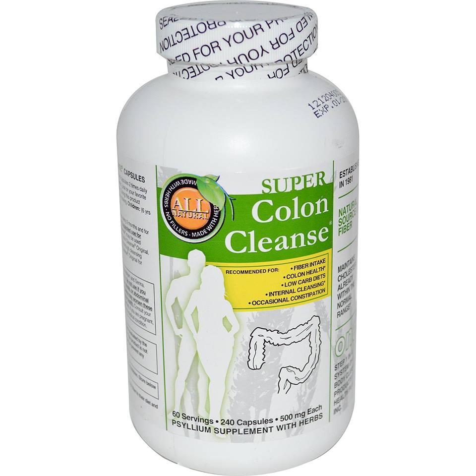 **พร้อมส่ง** Super Colon Cleanse ดีท็อกซ์ลำไส้สูตรเข้มข้น เพื่อล้างสารพิษในลำไส้ ทุกๆ 2 เดือน เพื่อการลดน้ำหนักอย่างได้ผล ไม่โยโย่ ไม่กลับมาอ้วนอีก