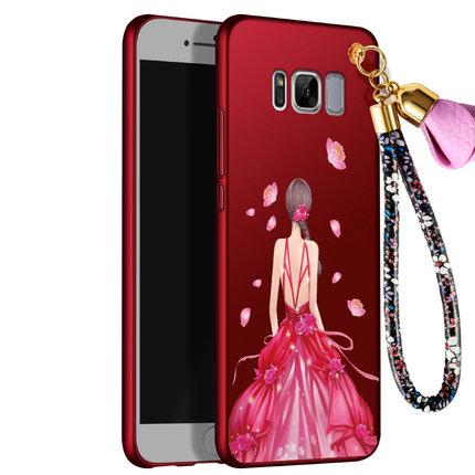 เคสมือถือ Samsung S8plus -เคสซิลิโคนสกรีนลายเจ้าหญิง [Pre-Order]
