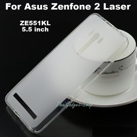 """เคส Asus ZenFone 2 Laser 5.5"""" ZE550KL ZE551KL ซิลิโคนสี Matt นิ่ม กันกระแทก"""