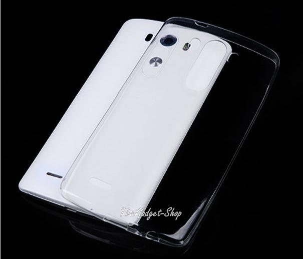 (พร้อมส่ง) เคสใส LG G3 แบบ Ultra thin 0.3mm Crystal Clear soft TPU Cover Case for LG D855 D850