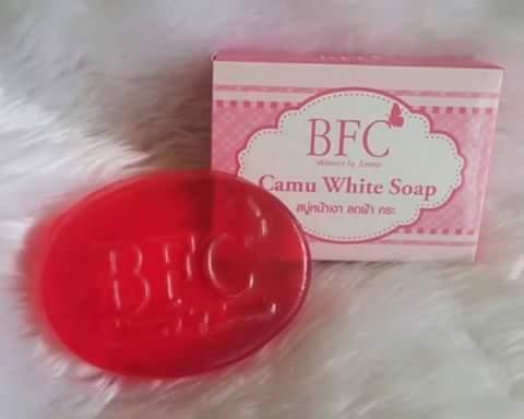 Camu White Soap by BFC 70 g. สบู่คามู สบู่หน้าเงา ลดฝ้า กระ